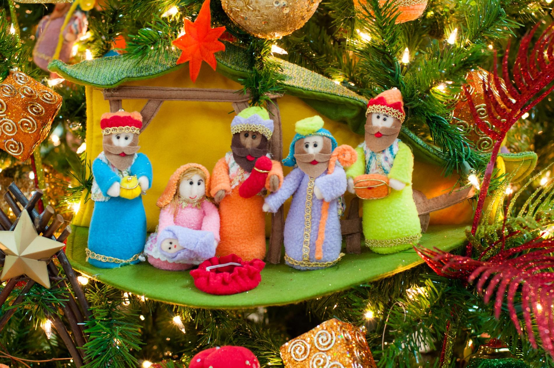 La estampa del Nacimiento en la decoración Navideñas - casafebus.com