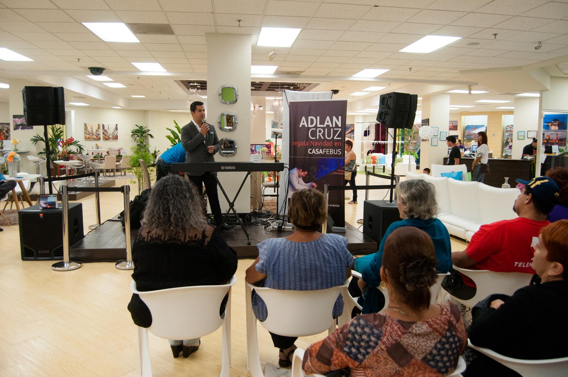 Gala de Navidad con el pianista Adlan Cruz en Casa Febus